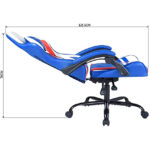 Silla Gamer Super héroe reclinable