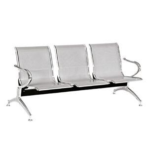 Silla Tandem de 3 asientos